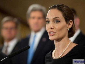 Actress Angelina Jolie slams Donald Trump